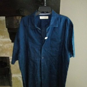 Men's Tommy Bahama XL Linen Short Sleeve Shirt
